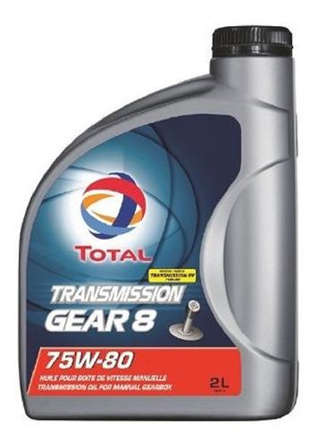 Aceite 75w80 Total Gl4 2litros Envío Gratis Para Cajas De Ca