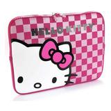 Funda 14  Hello Kitty Checkerd