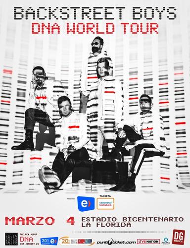 Back Street Boys Dna World Tour 4 Marzo Cancha.