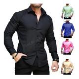 Camisa Slim Fit - Entallada (mod 10)