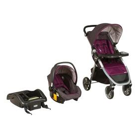 Coche Travel System Infanti Alpine 4 Purple