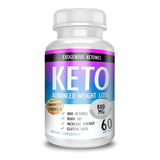 Keto Advanced Original 100% Usa Capsulas Importadas