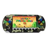 Consola Portatil Mp5 Juegos Clasicos Nes Snes Gba Camo Lbn
