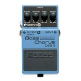 Pedal Chorus Para Bajo Boss Ceb-3 Bass Chorus