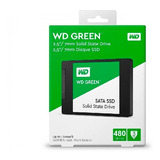 Wd Ssd Disco Green 480gb 2.5 Int Sata 3d