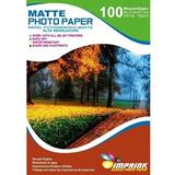 Papel Alta Resolucion Matte Foto A4/130g/100 Hojas Imprink