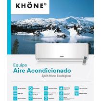 Aire Acondicionado Split Muro 24000 Btu Khone Instalado