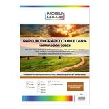Papel Foto Matte Doble Cara Nobucolor A3 140 Gr. 50 Hojas