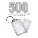 500 Llaveros Acrílicos Portafotos Publicitario / E-shop