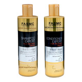 Shampoo + Acondicionador Expert Biotin & Collagen 500ml