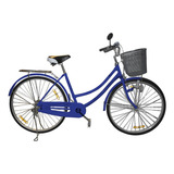 Bicicleta De Paseo Vintage Aro 26 Para Mujer Varios Colores