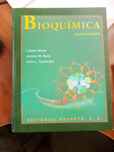 Bioquímica. (stryer, Berg, Tymoczko)
