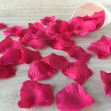 Pétalos De Rosa Artificiales 100 Und  (variedad De Colores)
