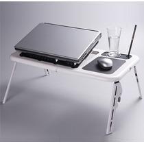 Mesa Para Notebook O Netbook Con Patas Y Ventilador, E-table