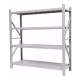 Estanteria Rack Repisas Industrial Metal Estante 2x0.6x2mt