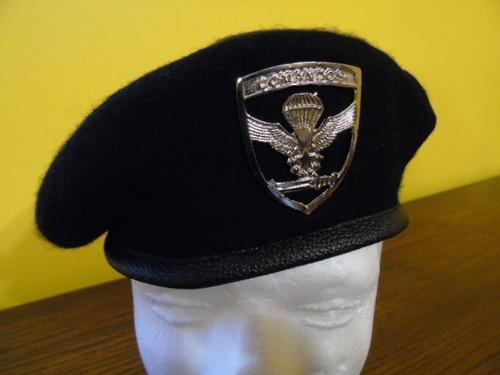 af6025ba2d74c Boina Negra Comandos Ejército De Chile