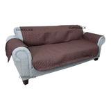 Funda Cobertor Protectora Reversible Sofa Sillon 3 Cuerpos