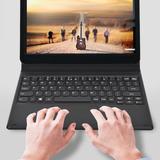 Negro 10.1 Pulgadas Tablet Teclado Dock Con Cubierta Para Le