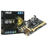 Placa Madre Asus H81m-k Intel H81 Socket 1150 Ddr3 1600 Mhz