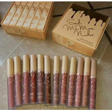 Caja De Labiales Kylie12 Labiales Tonos Nude, Envio Gratis