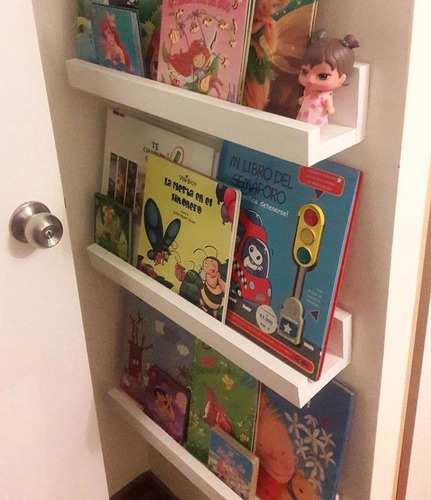 Repisas Flotantes Infantiles.Repisas Libreros Flotantes Infantiles Modelo En L 12500 En