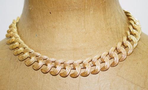 f8aa30502064 Collar Choker Monet Fantasia Fina Vintage 60-70¨s