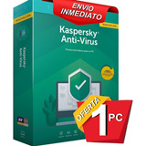 Kaspersky Internet Security 1 Pc 1 Año Licencia Original