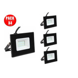 Foco Proyector Led 20w Exterior Pack 4 Unidades