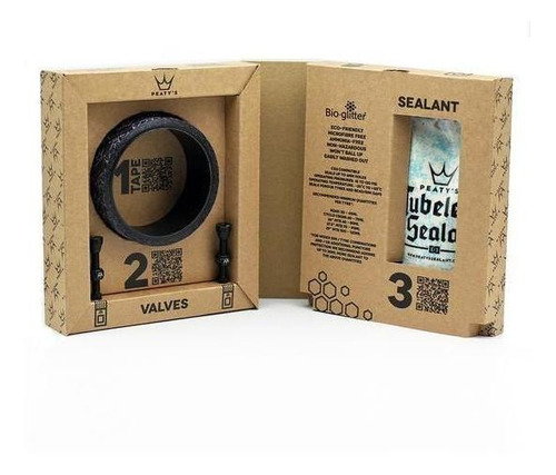 Kit Para Tubular Para 35mm Peaty's
