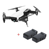 Drone Dji Mavic Air Artic White + 2 Baterías Extra