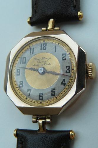 712c013a9255 Reloj Rolex Antiguo Oro Solido Suizo Cuerda Año1926