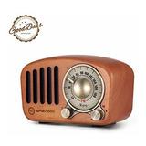 Vintage Retro De La Radio De Bluetooth Del Altavoz Del Gread