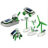 Robot Kit 6 En 1 Educativo Juego Solar / Fernapet