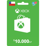 Tarjeta Xbox Live 10000 Clp (chile) - Prepagochile