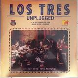 Los Tres Unplugged Vinilo Doble Nuevo Y Sellado
