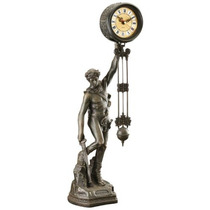Design Toscano Ser Coronado Con Reloj De Péndulo...