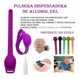 Pulsera Dispensadora De Alcohol Gel