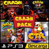 Crash 1-2-3-ctr Pack Ps3 Digital Y Original