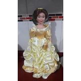 Muñeca De Porcelana Bella De La Bella Y La Bestia