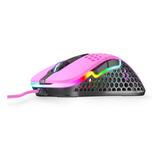 Mouse Gamer Xtrfy M4 Rgb Pink 69 Gramos 6 Botones 16000 Dpi