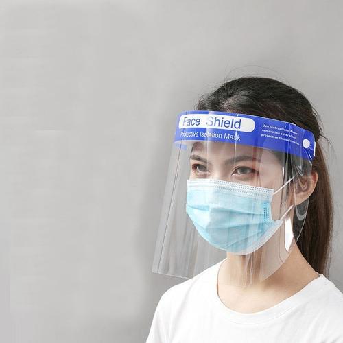 Escudo Facial Protector Mica Completa Transparente