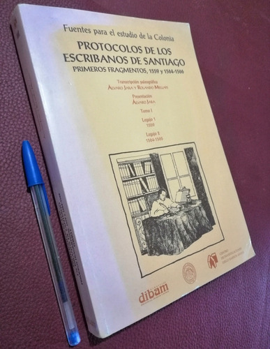 Protocolos De Los Escribanos De Santiago T 1. De La Colonia