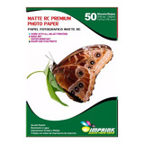Papel Foto Premium Rc Luster  13x18/230g/50 Hojas