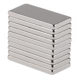 20 Piezas Neodimio Bloque Imán 20x10x2mm Nuevo Super Fuerte