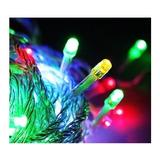 Luces A Pila  Navidad Rgb Led 9m Guirnaldas + Pilas