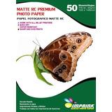 Papel Foto Premium Rc Luster  10x15/260g/50 Hojas