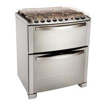 Cocina Electrolux 5 Platos Doble Horno 76dtx Nueva