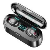 Audífonos Bluetooth 5.0 Twh F9 Earbuds Inalámbricos Black