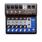 Mezclador Con Interfaz  Y Multiefecto Proco Bk-6
