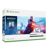 Consola Xbox One S 1 Tb + Battlefield V Deluxe Ed - Prophone